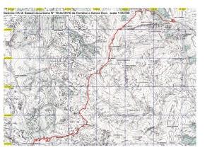 cartina dell'escursione